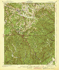 1942 Blowing Rock, NC USGS Historical Topographic Map
