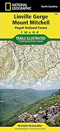 Linville Gorge Mount Mitchell Topographic Map